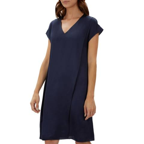 Jaeger Navy Double Layer dress