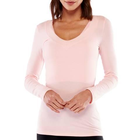 Electric Yoga Blush Perfect Long Sleeve Top