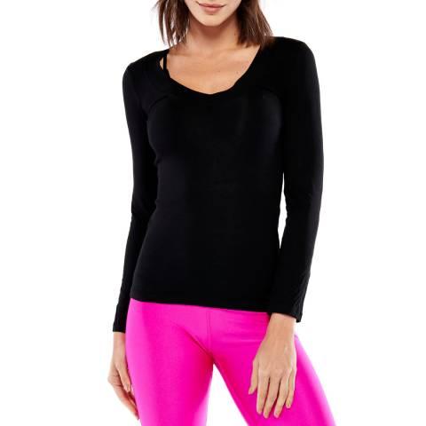 Electric Yoga Black Perfect Long Sleeve Top