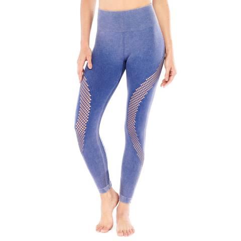 Electric Yoga Indigo Fishnet Leggings