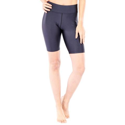 Electric Yoga Black Biker High Rise Short