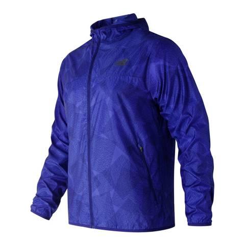 New Balance Performance Purple Windcheater Jacket