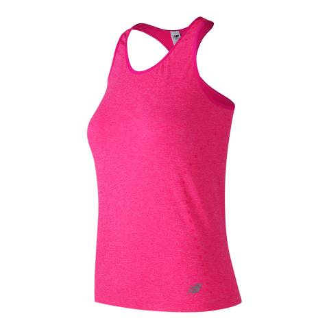New Balance Performance Pink Seamless Tank