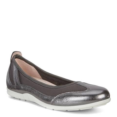 ECCO Dark Shadow Bluma Flat Shoe