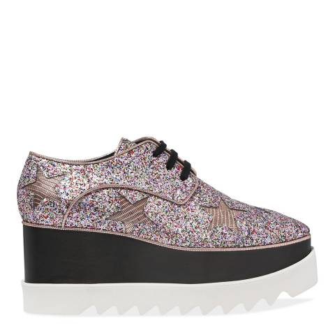 Stella McCartney Glitter Platform Shoe