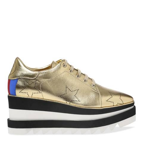 Stella McCartney Gold Platform Shoe