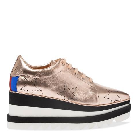 Stella McCartney Rose Gold Platform Shoe