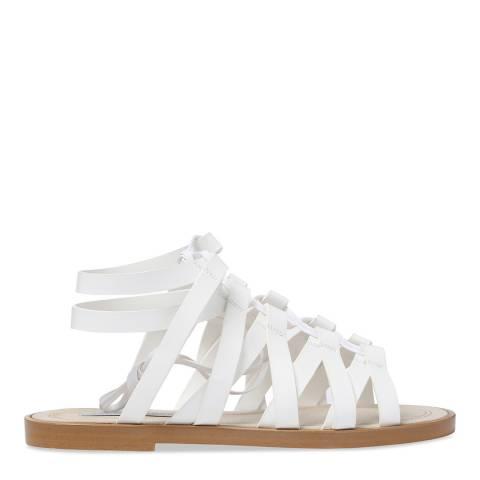 Stella McCartney White Flat Sandal