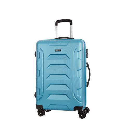 Travel One Blue 8 Wheel Nilsen Suitcase 50cm
