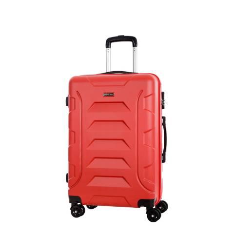 Travel One Red 8 Wheel Nilsen Suitcase 50cm