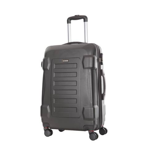 Travel One Grey 8 Wheel Lindon Suitcase 60cm
