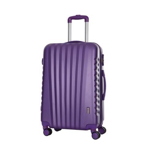 Travel One Violet 8 Wheel Hills Suitcase 60cm