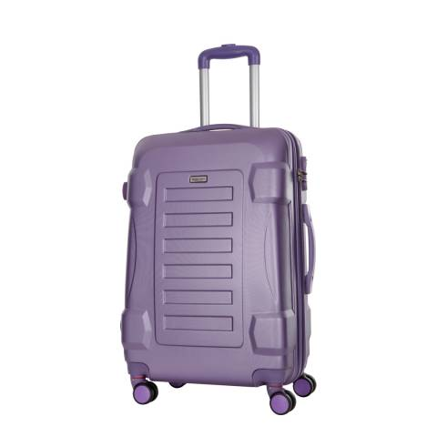 Travel One Violet 4 Wheel Linden Suitcase 60cm