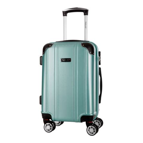 Travel One Green 8 Wheel Bazzano Suitcase 66cm