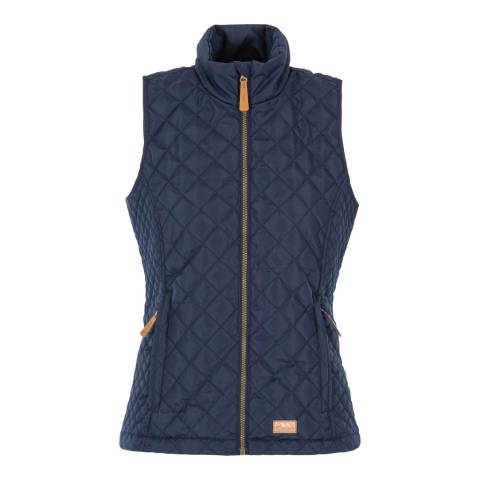 Trespass Navy Soulmate Padded Gilet