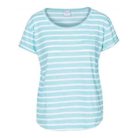 Trespass Tropical Blue Fleet T-Shirt