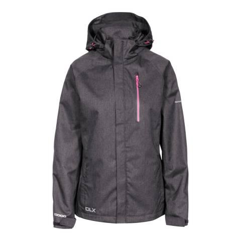 Trespass Black Marl Tiya DLX Jacket
