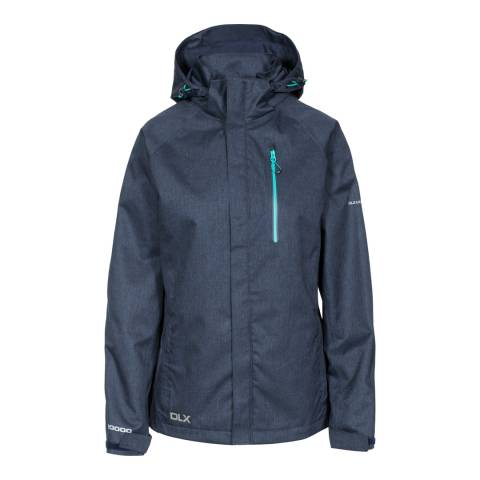 Trespass Navy Marl Tiya DLX Jacket