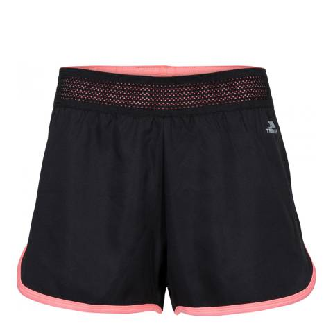 Trespass Black Orina Active Shorts