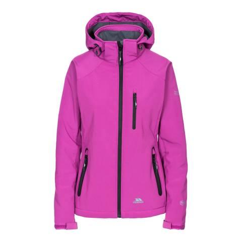 Trespass Purple Bela II Softshell Jacket
