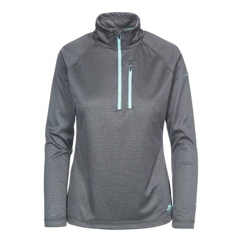 Trespass Charcoal Marl Lopez Fleece