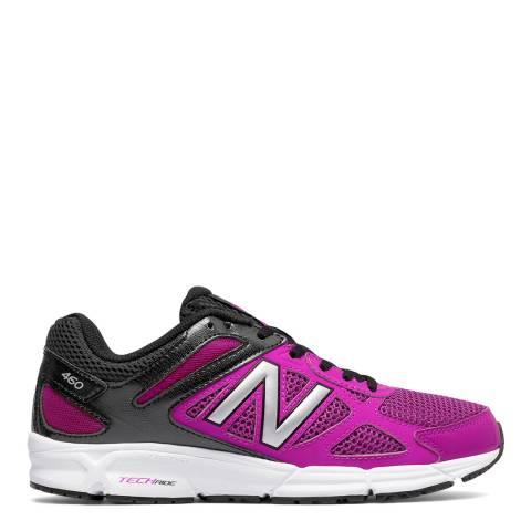 New Balance Performance Pink & Black 460 TechRide Sneakers