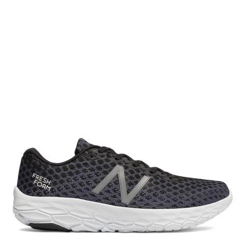 New Balance Performance Black & Grey Fresh Foam Beacon Sneakers