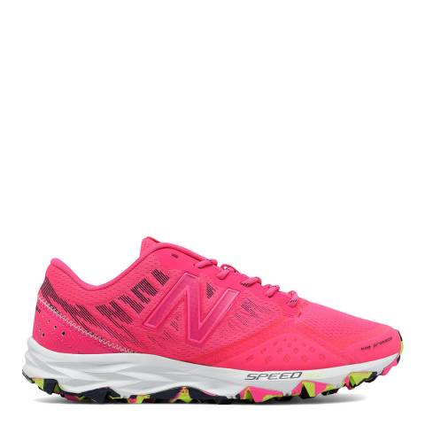 New Balance Performance Neon Pink Mesh 690 v2 Sneakers