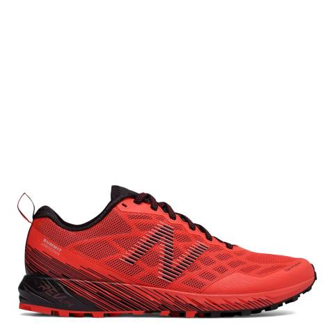 New Balance Performance Flame Red & Black Trail Summit Unknown Sneakers