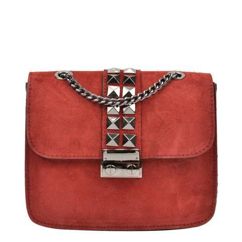 Mangotti Burnt Red Mangotti Shoulder Bag