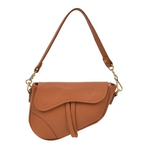 Anna Luchini Tan Anna Luchini Shoulder Bag