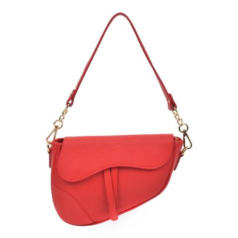 Anna Luchini Red Anna Luchini Shoulder Bag