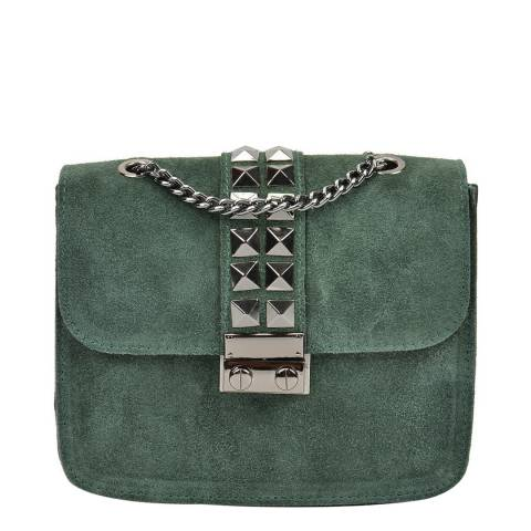 Mangotti Forest Green Mangotti Shoulder Bag