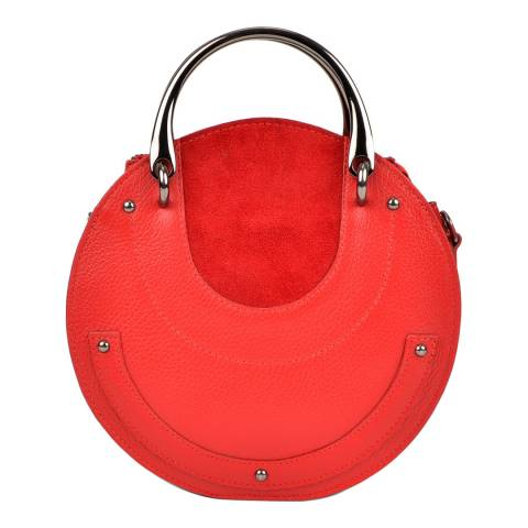Isabella Rhea Red Isabella Rhea Circle Shoulder Bag