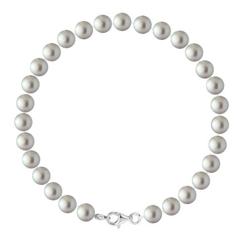 Ateliers Saint Germain Grey Freshwater Round Pearl Bracelet 6-7mm