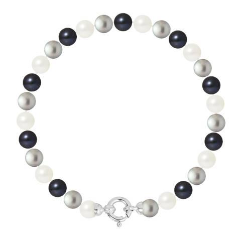 Atelier Pearls Multi Row of Round Pearl Bracelet 6-7mm