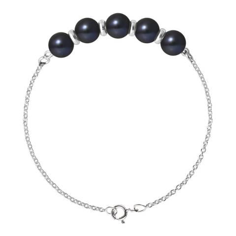 Ateliers Saint Germain Black Tahitian Style Pearl Bracelet 6-7mm