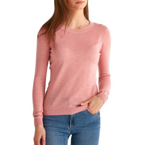 Rodier Pink Halter Top Pullover