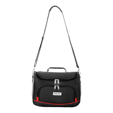 Travel One Black Kolkata Vanity Bag