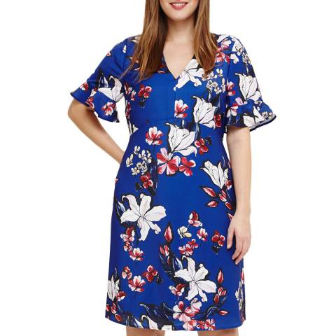 Studio 8 Blue Multi Priscilla Dress