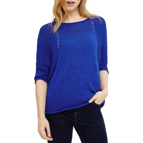 Phase Eight Aideen Tape Knit Cobalt