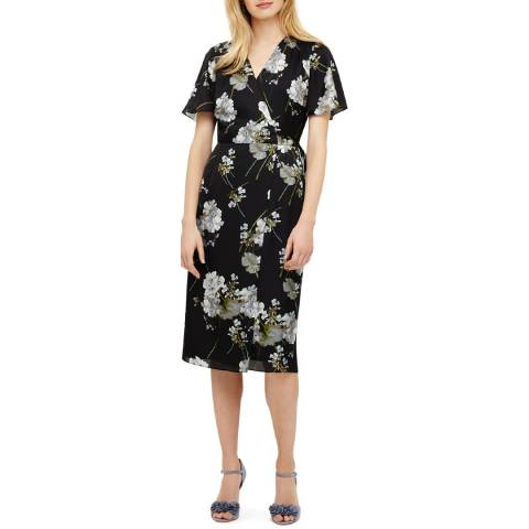 Phase Eight Black Tasha Wrap Dress