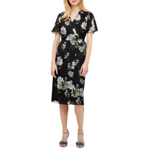 Phase Eight Black Tasha Wrap Dress