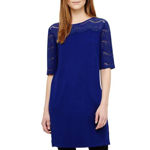 Phase Eight Sapphire Blue Laken Lace Tunic