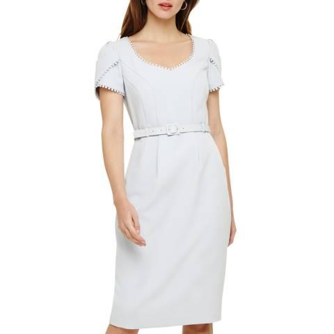 Phase Eight Pale Blue Alva Dress