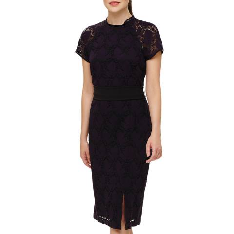 Phase Eight Midnight Henrietta Lace Dress