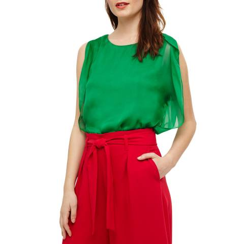 Phase Eight Green Angie Blouse