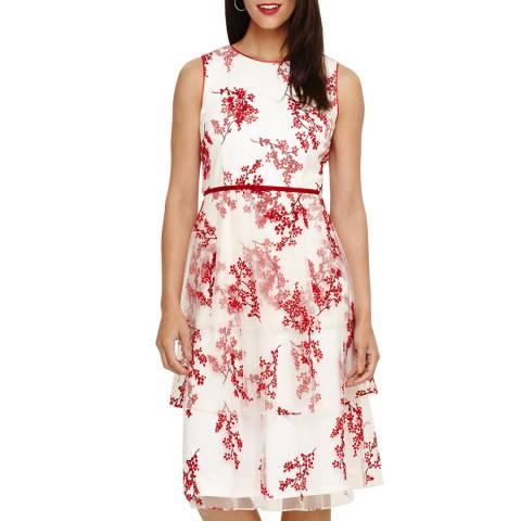 Phase Eight Ivory Francine Dress