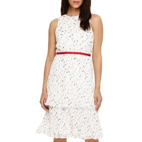 Phase Eight Ivory Multi Florence Dress