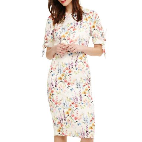Phase Eight Ivory Bella Floral Dress